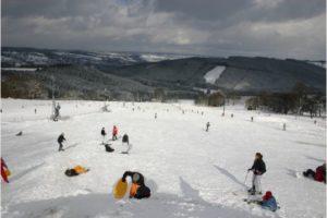 ski piste val de wanne