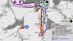 plan piste de ski val de wanne